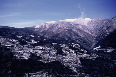 19.中津明神山(1541.6m)