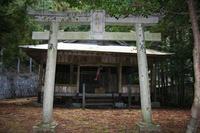 31.六社神社と大ツバキ